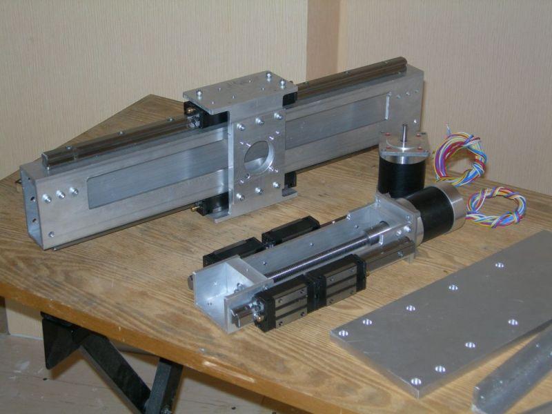 Механика самодельного станка чпу